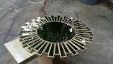 Spiegel van het Glas van de Spiegel van de Muur van het Kristal van de Ambacht van de hand de In het groot Gebroken Zilveren