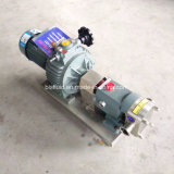 Pompa rotativa industriale d'acciaio dell'ostruzione della gelatina del lobo