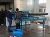 Máquina de estaca automática hidráulica do Swatch da amostra de matéria têxtil da tela