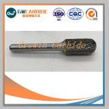Corte de carburo de Rotary las rebabas de piezas para máquinas CNC