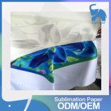 Papier d'imprimerie de la chaleur de sublimation de roulis de vente en gros d'usine pour le tissu