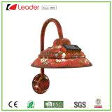 Metal caliente la venta de lámpara de luz solar rústico artesanal a mano para el Hogar y Jardín Decoración