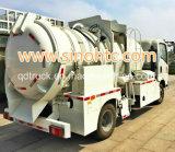 5-8 cbm Veículo de sucção a vácuo, efluente de sucção caminhão, caminhão de sucção fecal