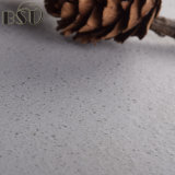 Piedra superficial del cuarzo de las materias textiles grises claras