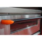 商業パン屋装置2のデッキ4の皿の電気オーブン