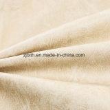 Tela de tapicería del terciopelo de 2018 amarillentos para el sofá (YN006)