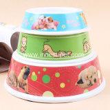 Ciotola d'alimentazione di plastica di vendita calda del cane/ciotola del cane animale domestico della melammina