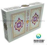 Type classique et boîte-cadeau de empaquetage créatrice de papier d'imprimerie