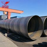 Grote Diameter 219mm tot 2000mm de SSAW Gelaste Spiraalvormige Pijp van het Staal in Koolstofstaal