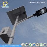 Monobrazo de alta calidad de las luces de calle Solar con batería de colgar en el polo