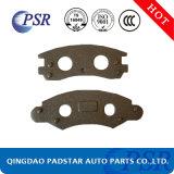 Placa de suportação do ferro de molde das almofadas de freio do caminhão de Wva do bom desempenho