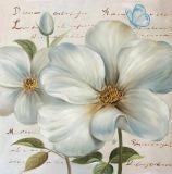 Moderner Entwurfs-Qualitäts-handgemachte Ölgemälde-Blumen-Gestaltungsarbeiten