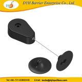 Dyh Drop-Shaped Enrouleur avec câble de blocage de la plaque ABS fin pour la vente au détail de la sécurité d'affichage