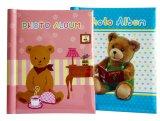 Álbum de fotografias em papel espiral plástica, Foto livro para crianças
