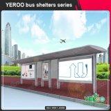 Publicidad de diseño de los muebles/del abrigo al aire libre de la parada de omnibus