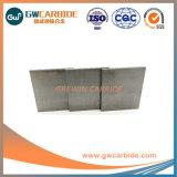 Placa de carboneto de tungsténio sólidos em branco