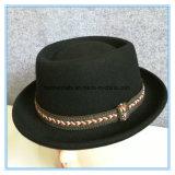 Wolle-FilzTrilbyfedora-Mann-Hut der Form-100%