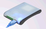 D-10X RS-232, USB Lector RFID UHF Desktop con SDK