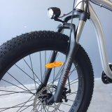 48V 500W 모터 전기 Moutain 자전거를 가진 고속 장거리 뚱뚱한 타이어