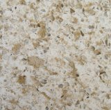 Pedra de cristal artificial projetada material de quartzo da bancada do indicador de louro