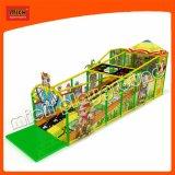 Los niños patio interior cubierto de juguetes para niños diseño de interiores Playground Playground suave 6620b