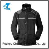 Unisex куртка дождя Pongee полиэфира 240t