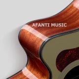 """Disegno 40 di Cuestom di musica di Afanti """" /41 """" di chitarra acustica (AAG-104)"""
