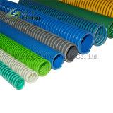 Hélice en PVC renforcé flexible d'aspiration / flexible à eau