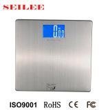 Échelle de salle de bains électronique d'acier inoxydable avec la grande plate-forme