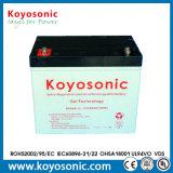 12V batterie profonde d'acide de plomb du cycle scellée par 80ah AGM avec la garantie de 3 ans