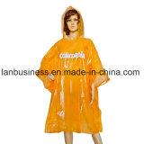 Poncio/cappotto/capo esterni personalizzati della pioggia di stampa