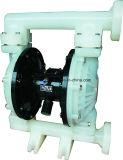 Hochdruckluft-pneumatische Plastikmembranpumpe