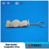 S-Tipo accesorios de la abrazadera de tensión de la abrazadera del ancla FTTH