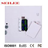 escala pessoal pequena Backlit 180kg do LCD Digital com carcaça do ABS