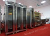 Pain de luxe Proofer de restaurant de matériel industriel de boulangerie avec le plateau 16