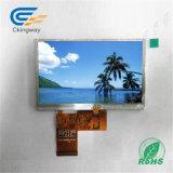 """Uso do módulo de Ckingway 4.3 """" LCD na tela do monitor de indicador LCM da navegação do carro"""