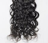 Mongolei-Franzosen bewegen unverarbeitetes Jungfrau-Haar für Salon wellenartig (Grad 9A)