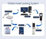 Slot van de Deur van de Veiligheid van het Hotel van de Kaart Keyless van Orbita het Slimme met het Vrije Systeem van het Sluiten