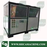 Tipo refrigeradores do parafuso do refrigerador de água para máquinas plásticas