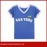 Maglietta promozionale unisex del cotone di abitudine 35% con la stampa (R184)