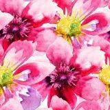 100% de la tela de flores hechas a mano de pintura al óleo para la decoración del hogar