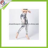 Caneleiras apertadas personalizadas da aptidão das mulheres do desgaste da ioga para a ioga