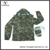 メンズは羊毛Lining&Pouchが付いている1ジャケットの軍隊3を防水する
