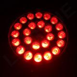 Напольный свет РАВЕНСТВА квада СИД IP65 RGBW 24X10W