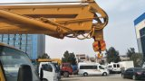 Paltform 트럭 Foton 유압 공중 물통 트럭 유압 광속 기중기를 드는 중국 고품질 고도 운영에서 최신 2017년 판매
