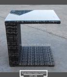 Mtc-206-1 móveis de vime exterior Sofá Sofá-cama com dossel da China Factory