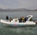 Liya 8.3meter 20 사람 물 택시 배 호화스러운 늑골 배