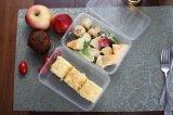 Nahrungsmittelgrad-transparenter Wegwerfnahrungsmittelvorratsbehälter mit Kappe