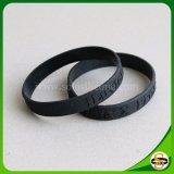 Wristband del silicone di marchio di Debossed del regalo di nuovo anno per i capretti