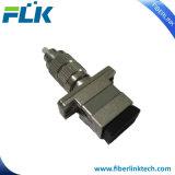 단순한 이중 Sc/LC/FC/St/Mu/MTRJ/MPO 또는 남성 잡종 광섬유 접합기에 또는 Multimode/Om3/Om4 여성 싱글모드 쿼드